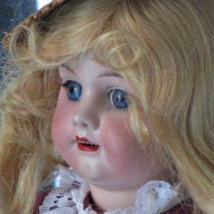 muñeca antigua biscuit marcada 0