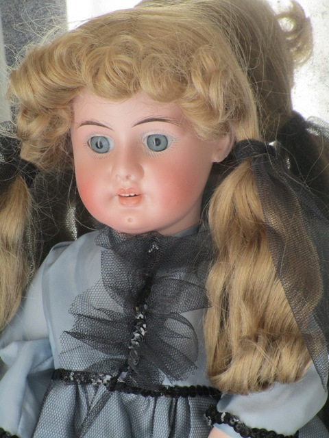 Antique Doll bisque Eduardo Juan Made in Austria