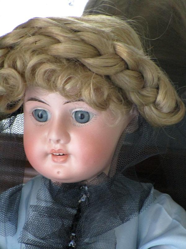 Antique Doll bisque Eduardo Juan Made in Austria