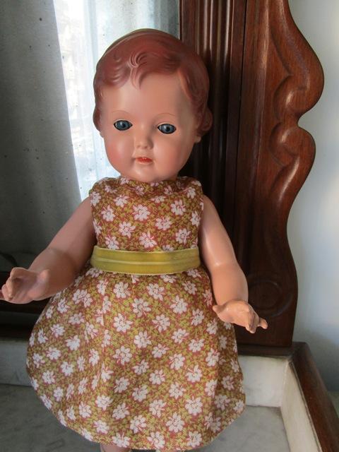 Celluloid Schildkröt 53 Doll