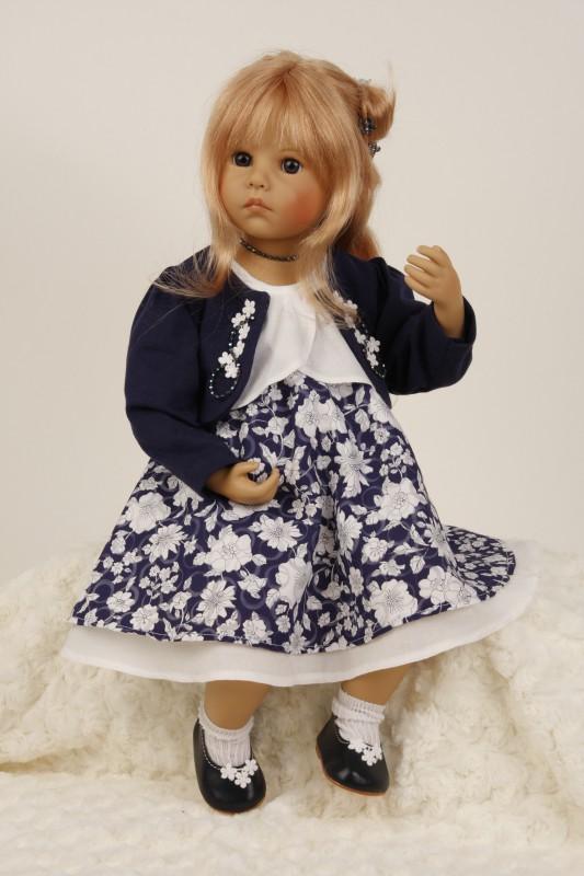 Muñeca de colección Elena de Sybille Sauer para Schildkröt