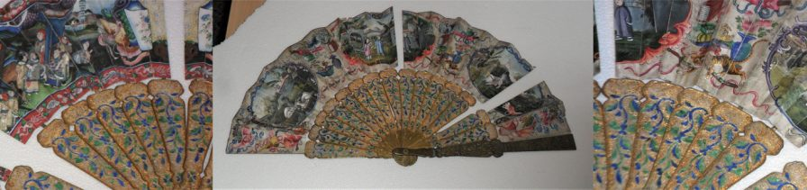Restoration of a 19th century Chinese Hand fan