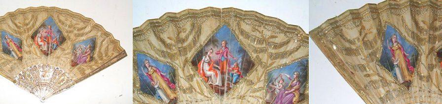 Restauració de ventall anglès XVIII